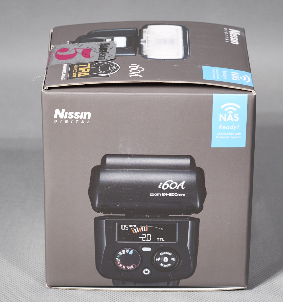 Box of the Nissin i60A