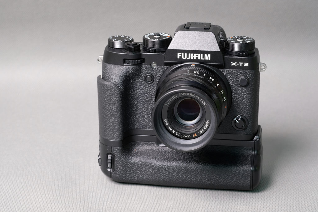 Fujifilm X-T2 z Vertical Power Booster Grip